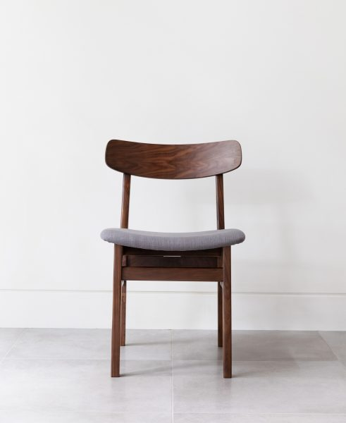 The Ecole dining chair gives off a cheeky, insolent vibe... and we like it.