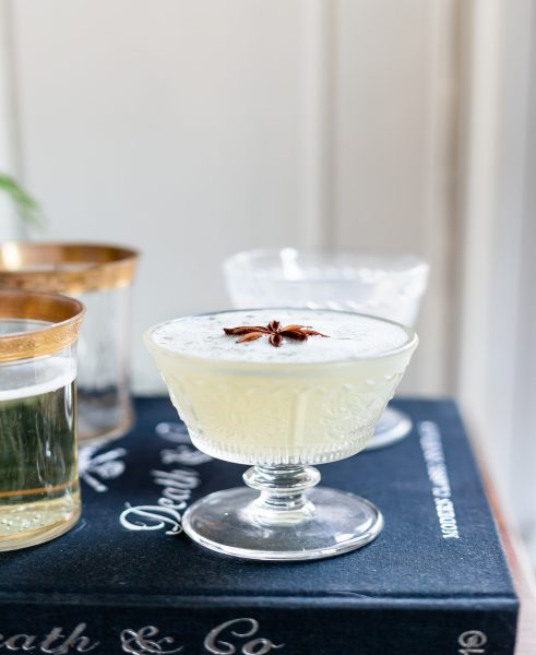 The Scandi 75 — a wintry take on the classic French 75. Recipe at bottom of post.