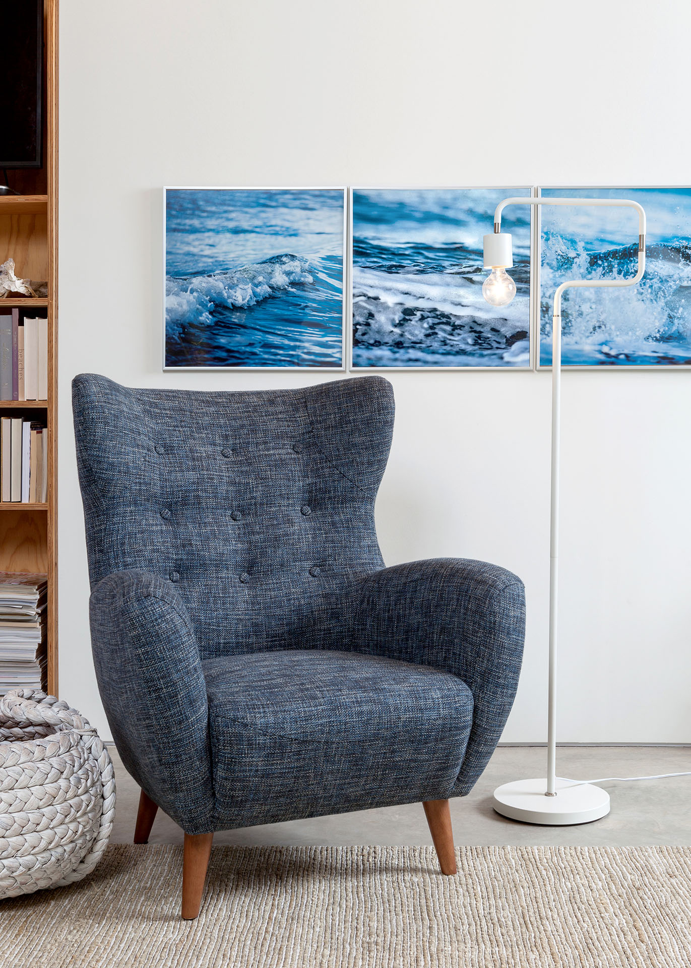 Create An Inspired And Intimate Seating Area By Mixing A Retro Armchair Like Mod With Lighting Choice Serpent Other Articles